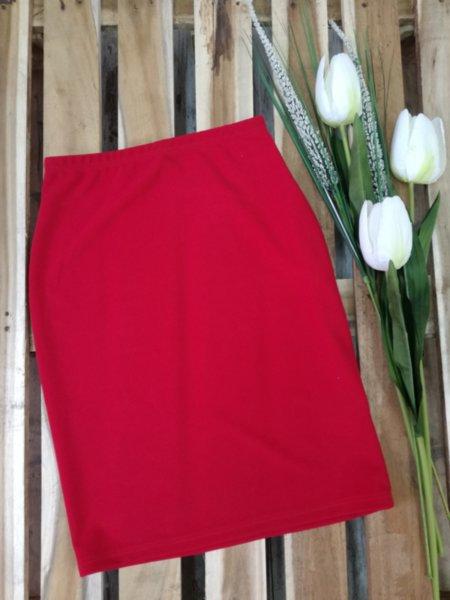 Дамска пола Marissa в червено